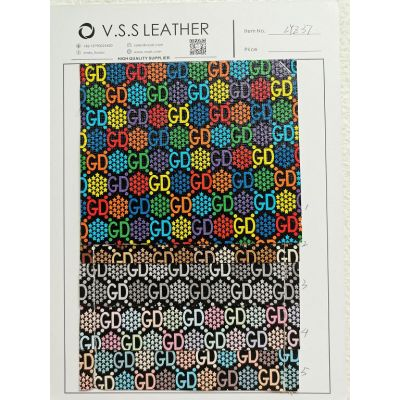PVC fabric,PVC pattern printed,Synthetic leather