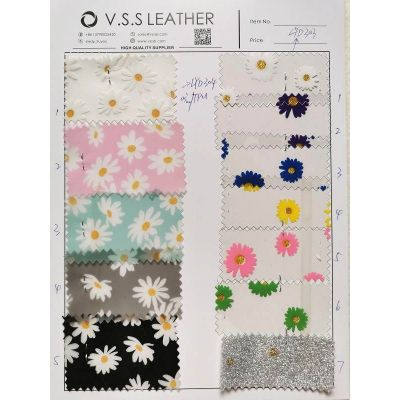Daisies Jelly Leather