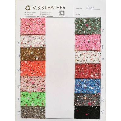 Chunky glitter,Chunky glitter fabric,Glitter for craft,Glitter leather fabric